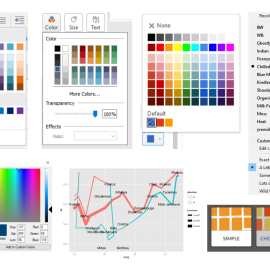 "More than Looking ""Pretty"" – Matching Graph Colors to Branding"