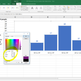 How to Enter Your Custom Color Codes in Excel