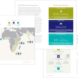 Behind the Scenes: TechnoServe's 2016 Impact Report